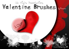 Valentine Brush by Rozairo