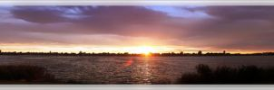 Montlake August Sunset by 007Nab
