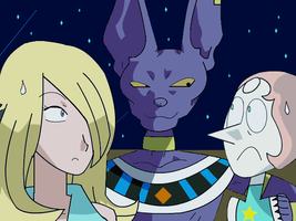 Beerus Moment by ToonEmpire24