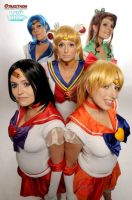 Sailor Moon : The five senshi by SilverSerenity01