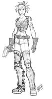 character_design sketch by viko-br