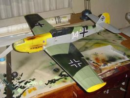 ME109 Scale model for RC by cruelangeltesis