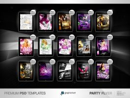 Party Flyer PSD Templates by Party-Flyer