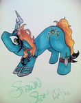 Spawn Star Pony by xx-Demon-Fox-xx