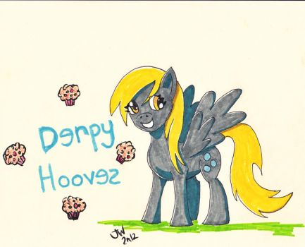Derpy Hooves by MadisonHRW