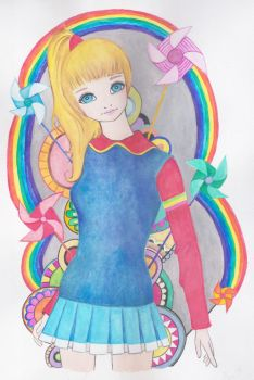 Modern Rainbow Brite by clearblue