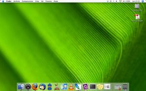 The desktop of my new macbook by mex23