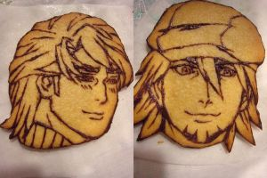 -WIP- TIGER AND BUNNY cookies by Annachuu