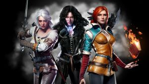 Witcher 3 Wild Hunt Female Characters by Mathiasus