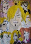 Sanji Vinsmoke - welcome back to hell - one piece by Tory-Rug1728