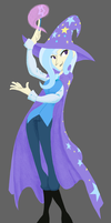 The Great and Powerful Human Trixie by AliasForRent