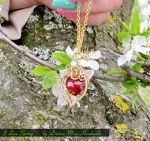 I Love Spring pendant by NessaSilverwolf