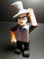Marilyn Manson Mini-figure. by APlaceForStuff