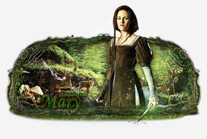 Snow White and Huntsman - Sign by BrunaDM