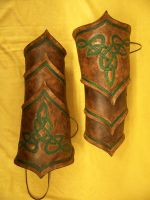 Dragon Hunter Bracers by MirabellaTook