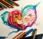 43- Simba and Nala by Lucky978