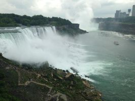 Niagara Falls from the American Side by PaparazziSecret