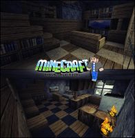 Interior in Minecraft by EleckAddict