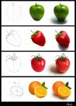 Fruits in process by Azot2016