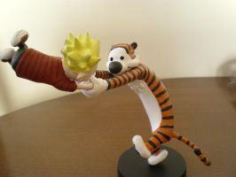 Calvin and Hobbes2 by ConqueringAlien