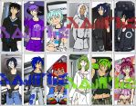 Console-kun - Bookmark Set by Schala-Kitty