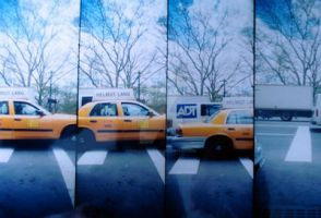 helmut lang cab lomography by ohrachelleigh