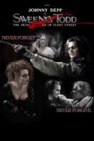 sweeny todd poster by mexicangoth13