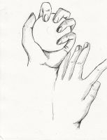 Hand Study 3 by ProudToSketch