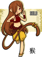 New Year Adopt : Monkey  [ Closed ] by SyT-Adopts