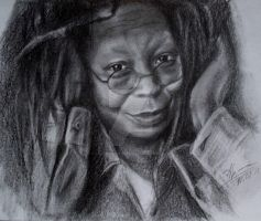 Whoopi Goldberg by CastrumAethereus