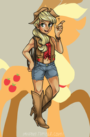 Applejack by Miupoke