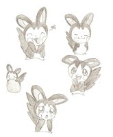 Emolga by Goomy-goo