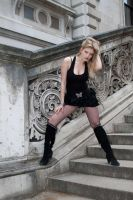 Blond bombshell stock 57 by Random-Acts-Stock