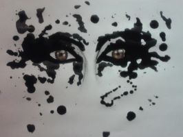 Ink Blot Eyes by DemonRed6