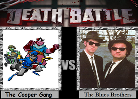 Death battle Cooper Gang vs the Blues Brothers by Gatlinggundemon9
