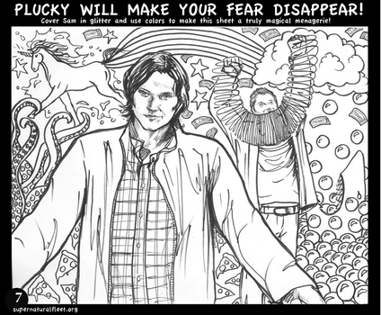 7. Save Us From Clowns by Supernatural-Fleet