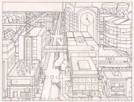 2000: Downtown Springfield by simpspin