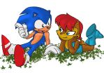 Sonic and sally by psychotoonist