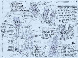 .: ~PaG/Ink Monsters - ref sheet~ :. by PrideAlchemist7