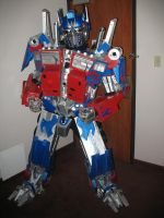optimus prime cosplay costume by TIMECON