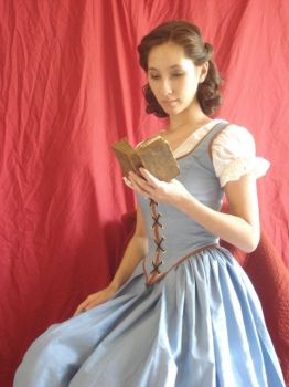 OUAT Belle Cosplay 3 by Lady-Lovelace
