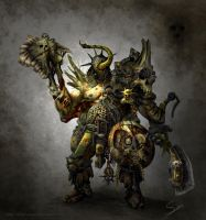 Nurgle Marauder - Version 2 by after-eleven