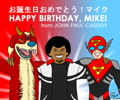Happy Birthday Mike by ryuuseipro