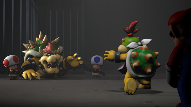 Bowser 'Lost Son' (RED cinema edition) WIP by Slayton16