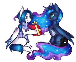 Full Shade  MLP Commission anzelpony by BlueKazenate