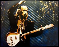 Tom Petty by bobbyzeik