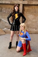 Mary Marvel _Supergirl by RingoxHitomi