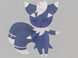 Meowstic doodle by TheBloodBrothers