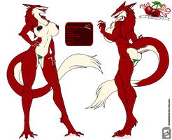 Sergal girl Cherry Vellet by wsache007