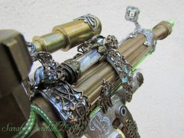 A Gun Of Some Sort -close view by fairyfrog